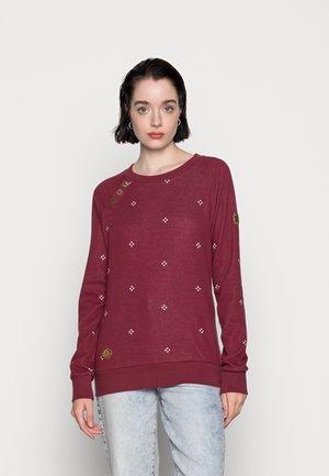 DARIA DOTS - Sweatshirt - wine red