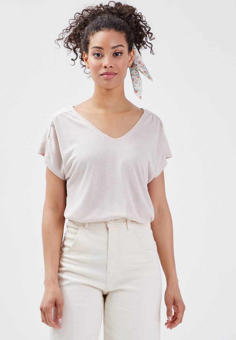 BONOBO Jeans - Camiseta estampada - rose pastel