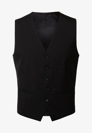 Suit waistcoat - black