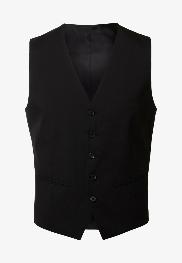 Selected Homme - Suit waistcoat - black