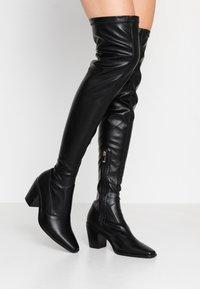 RAID - HETTIE - Overknee laarzen - black - 0