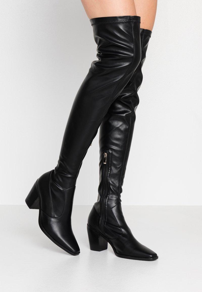 RAID - HETTIE - Overknee laarzen - black