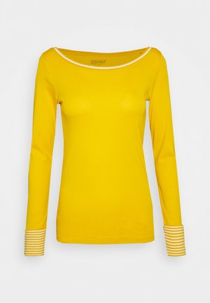 CORE - Camiseta de manga larga - brass yellow