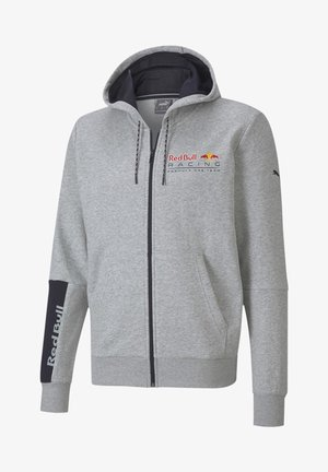 RED BULL  - Felpa aperta - light gray heather