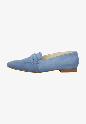 Slipper - denim-blau