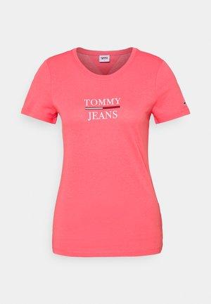 ESSENTIAL - T-shirts print - botanical pink