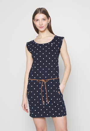 TAG DOTS - Jerseykjole - navy
