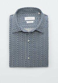 Massimo Dutti - SLIMFIT - Shirt - blue - 2
