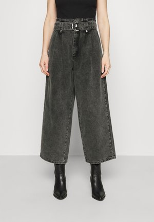 ALEAHGZ CULOTTE - Straight leg jeans - storm grey