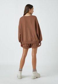 PULL&BEAR - Sweatshirt - brown - 2