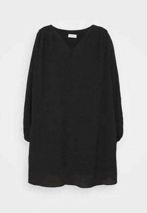 ODIXIA - Korte jurk - black