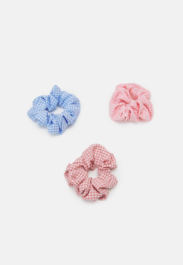 MALLORY SCRUNCHIE ZAL 3 PACK - Hårstyling-accessories - little boy blue/tan/rose