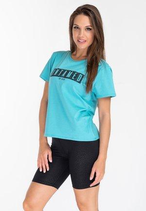 JUNGLE SPIRIT - Print T-shirt - mint