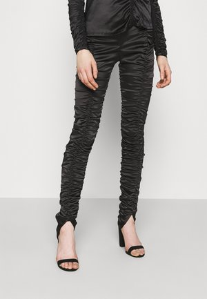 SMOCK TROUSER - Trousers - black
