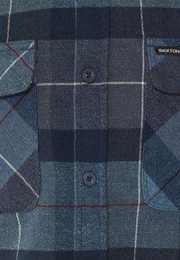 Brixton - BOWERY  - Shirt - navy/carolina blue - 3