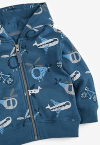 Next - AEROPLANE ALL OVER PRINT - Zip-up hoodie - blue - 2