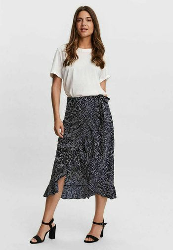 VMHENNA  - A-line skirt - navy blazer