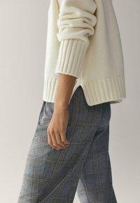 Massimo Dutti - Trousers - blue - 5