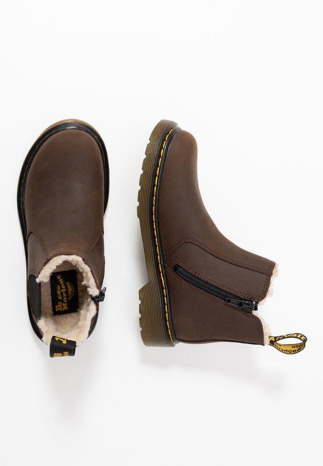 2976 Leonore Y Republic Wp - Zimní obuv - dark brown