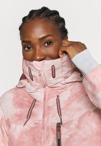 Roxy - PRESENCE - Snowboardová bunda - silver pink - 4