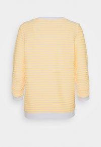 TOM TAILOR DENIM - STRIPED - Sweatshirt - yellow/white - 1