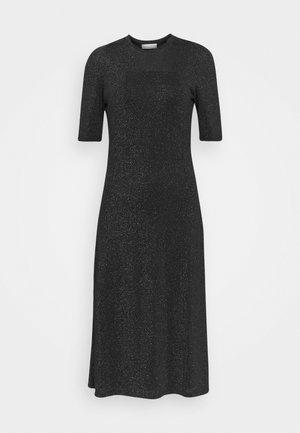 DETA - Jersey dress - black/green