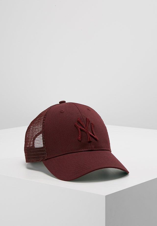 NEW YORK YANKEES BRANSON UNISEX - Cap - dark maroon