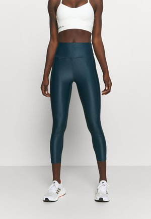 HIGH SHINE 7/8 WORKOUT - Collants - beetle blue