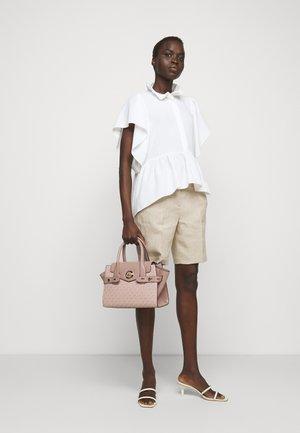 CARMEN FLAP SATCHEL SEMI LUX - Handbag - ballet