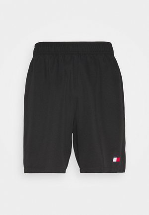 LOGO FLAG SHORT - kurze Sporthose - black