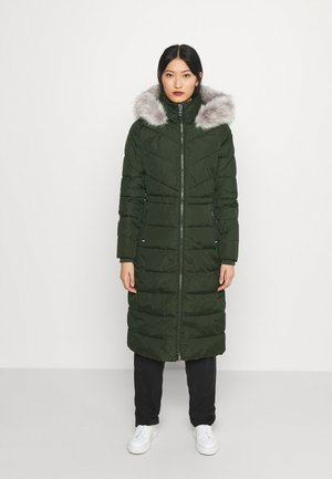 SORONA PADDED MAXI COAT - Winter coat - camo green