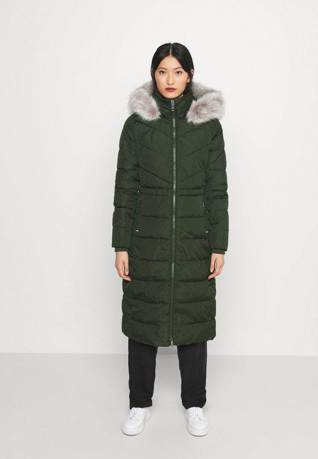 SORONA PADDED MAXI COAT - Winter coat - camo green