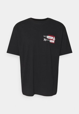 LIV NOW LSE SS - T-shirt con stampa - black