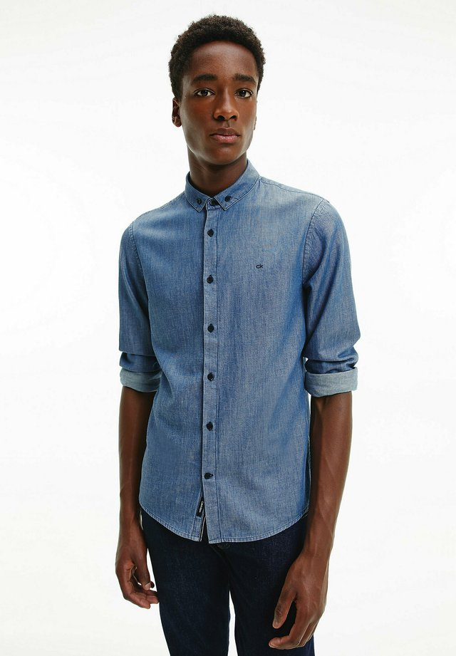 Shirt - mid blue indigo