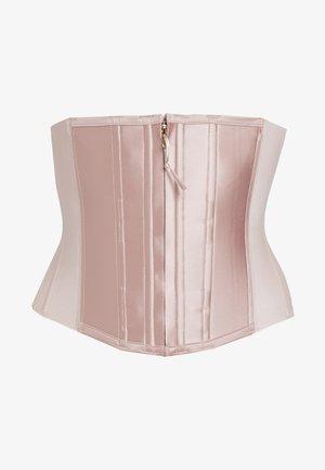 UNDERSCULPTURE CORSET - Corset - cameo blush