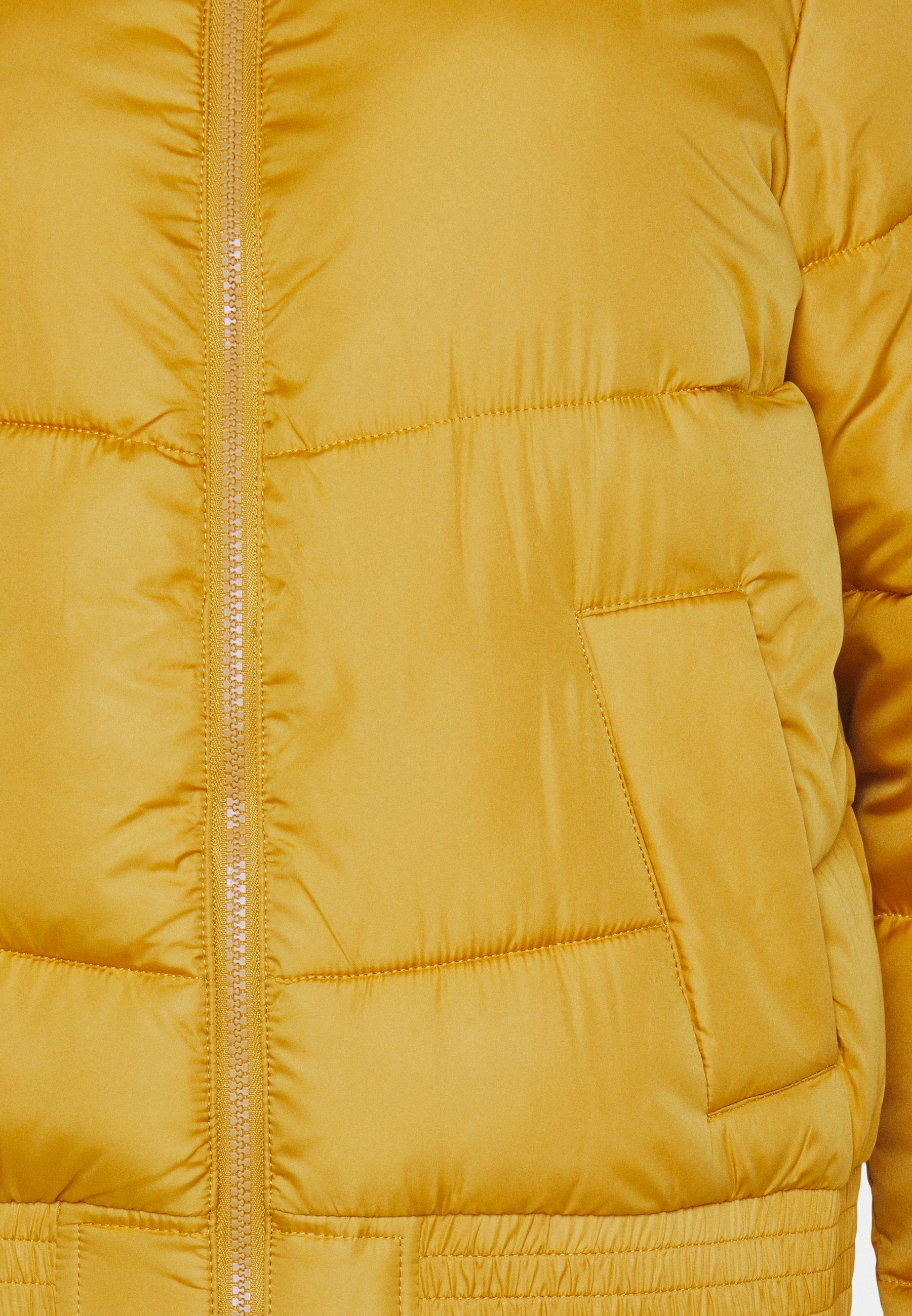 Hollister Co. FASHION PUFFER Winterjacke yellow/gelb