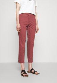 WEEKEND MaxMara - LATO - Pantalon classique - bordeaux - 0