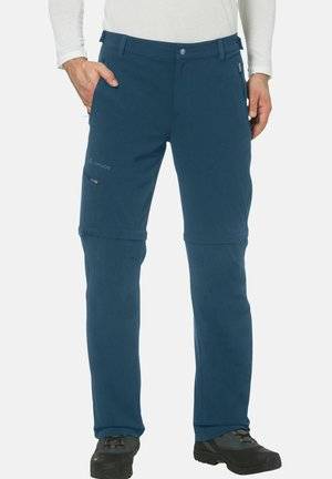 FARLEY T ZIP PANTS - Outdoor trousers - blau (296)