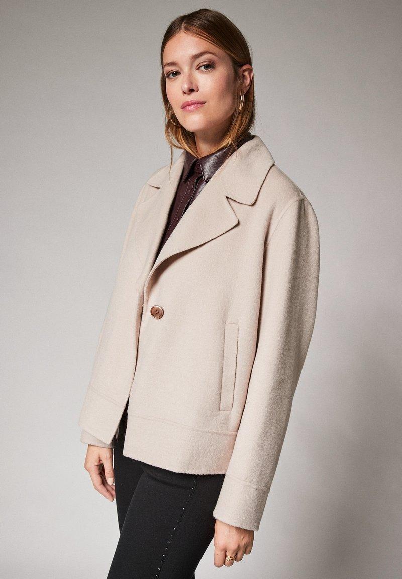 comma - Short coat - ivory
