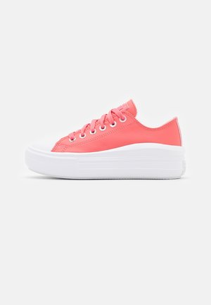 CHUCK TAYLOR ALL STAR MOVE  AND SHINE PLATFORM - Sneakers basse - pink salt/white