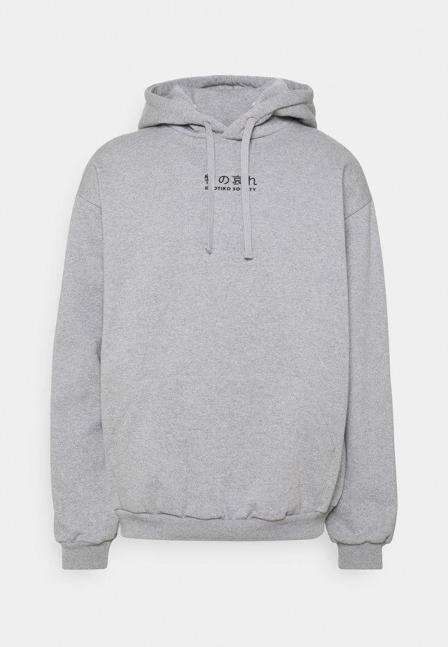 LOTUS FLOWER UNISEX - Hoodie - grey