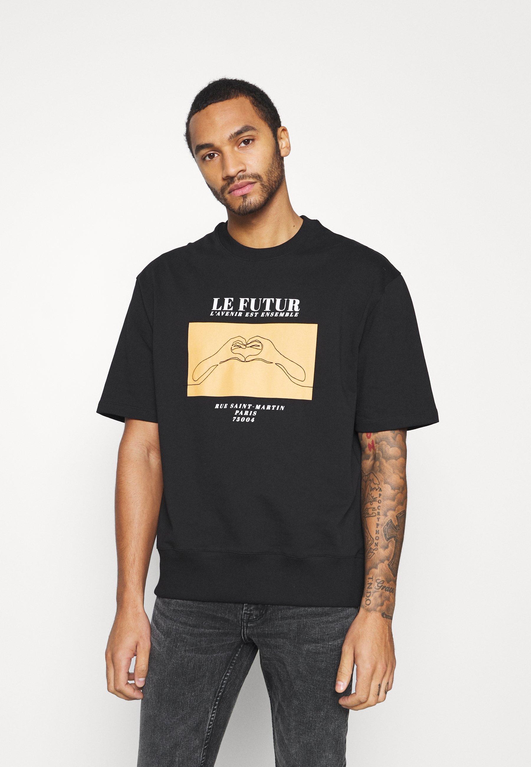 Men SKETCH HANDS - Print T-shirt