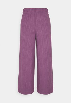 CILLA TROUSERS - Stoffhose - lilac purple medium dusty ol