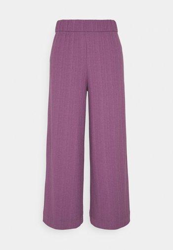 Trousers - lilac purple medium dusty ol
