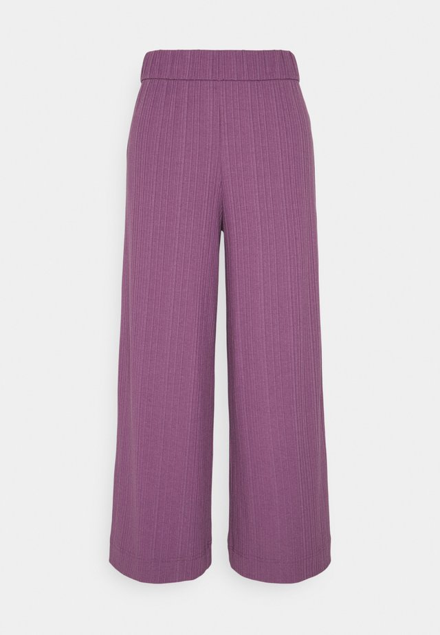 CILLA TROUSERS - Kangashousut - lilac purple medium dusty ol
