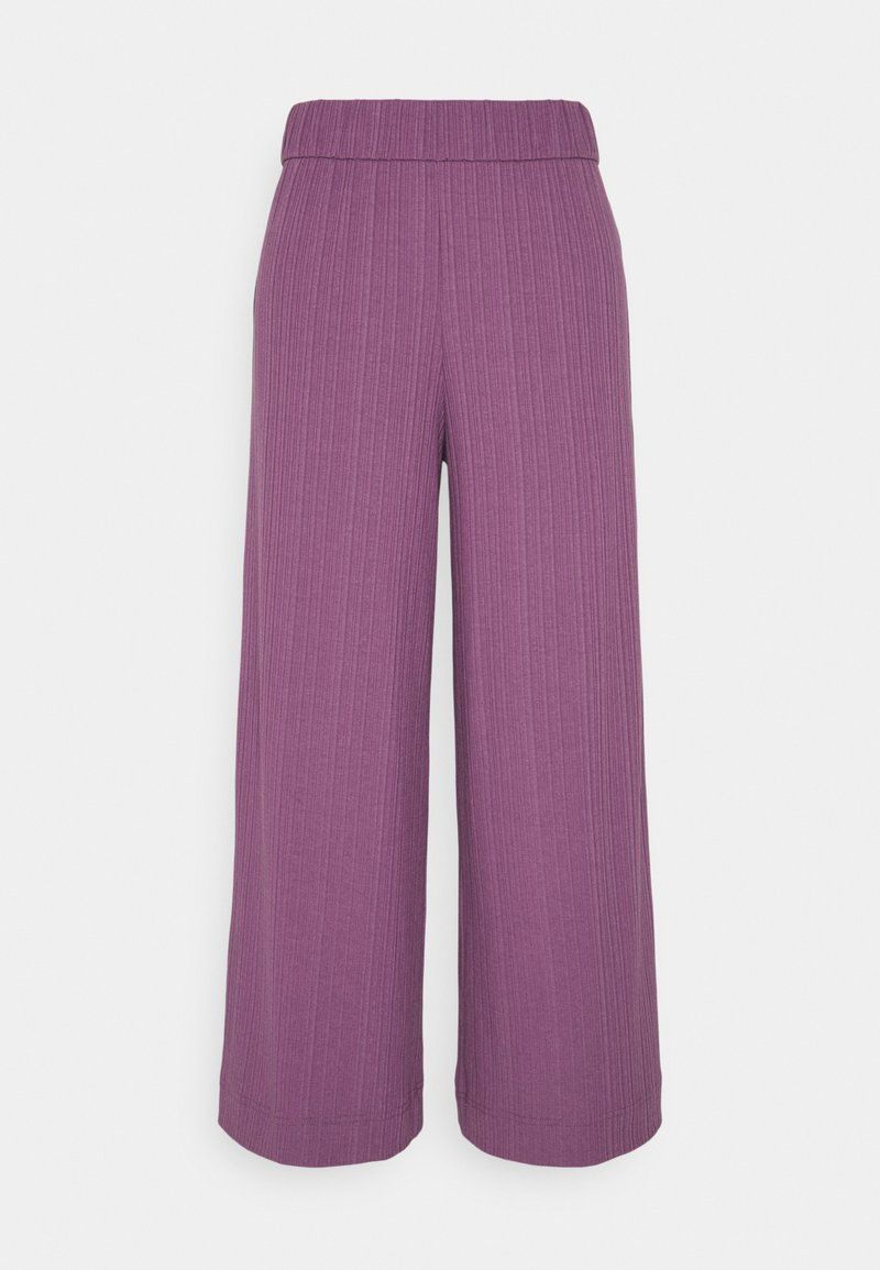 Monki - CILLA TROUSERS - Trousers - lilac purple medium dusty ol