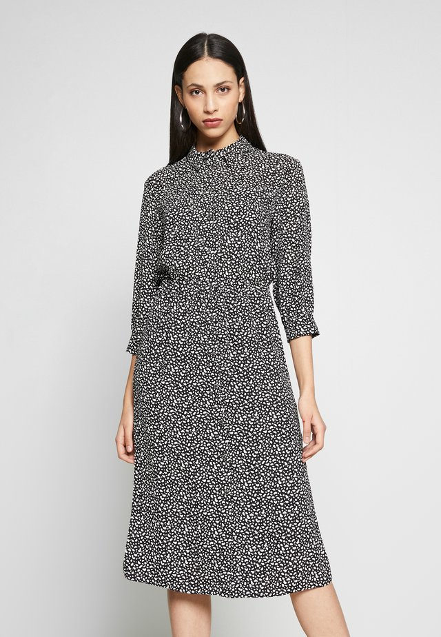 PEBBLE DRESS - Sukienka koszulowa - black