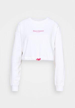 JOSIE - Sweatshirt - white