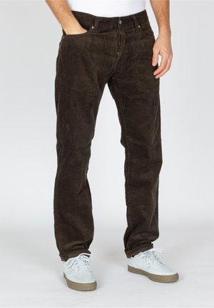 Trousers - tobacco rinsed