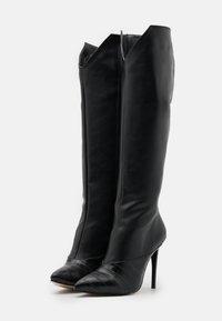 Trendyol - Boots med høye hæler - black - 2